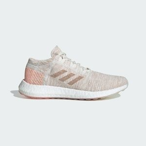 Sz 7 Adidas PureBOOST Running Shoe White Ash Pearl